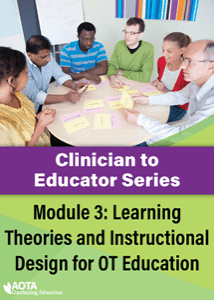 Clinician To Educator Series Module Iii Learning Theories And Instructional Design For Ot Education