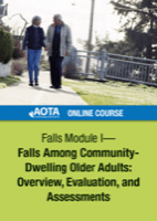 Image for Online Course: Falls Module I - Falls Among Community-Dwelling Older Adults: Overview, Evaluation, and Assessments