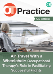 Image for CE Article: Air Travel With a Wheelchair: Occupational Therapy's Role in Facilitating Successful Flights