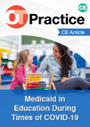 Image for CE Article: Medicaid in Education During Times of COVID-19