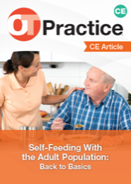 Image for CE Article: Self-Feeding With the Adult Population: Back to Basics