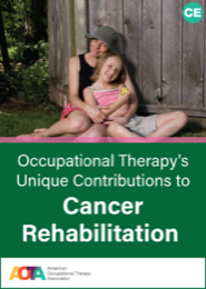 Image for Occupational Therapy's Unique Contributions to Cancer Rehabilitation 2nd ed