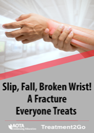Image for Slip, Fall, Broken Wrist! A Fracture Everyone Treats