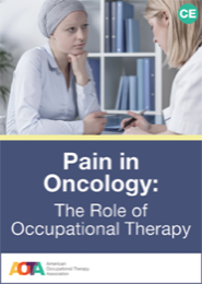 Image for Online Course: Pain in Oncology: The Role of Occupational Therapy
