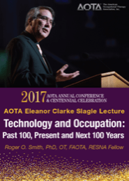 Image for 2017 Eleanor Clarke Slagle Lecture: Technology and Occupation: Past 100, Present and Next 100 Years