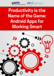 Image for Webinar: Productivity Is the Name of the Game: Android Apps for Working Smart