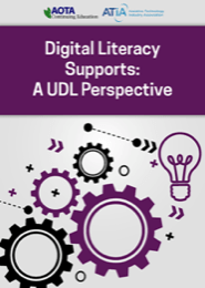 Image for Webinar: Digital Literacy Supports: A UDL Perspective