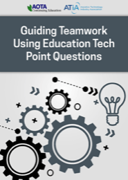 Image for Webinar: Guiding Teamwork Using Education Tech Point Questions