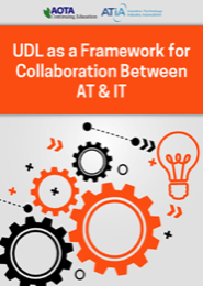 Image for Webinar: UDL as a Framework for Collaboration Between AT & IT