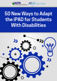 Image for Webinar: 50 New Ways to Adapt the iPAD for Students with Disabilities